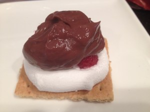 Inspiring Kitchen Chocolate Pudding S'Mores
