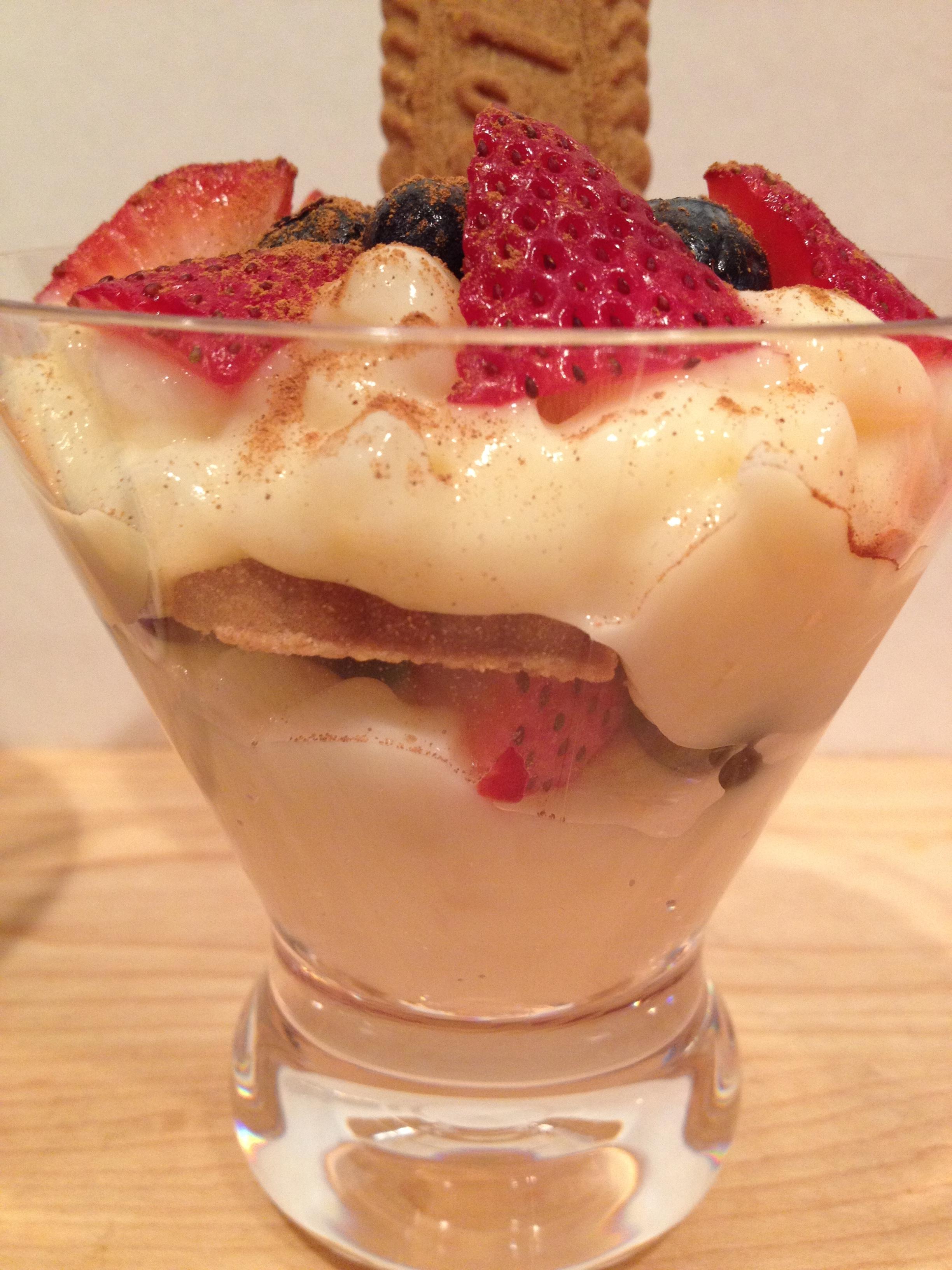 Inspiring Kitchen tapoica pudding parfait
