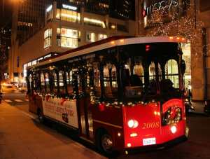 Celebrating the Holidays with Max & Leo's and Chicago Trolley