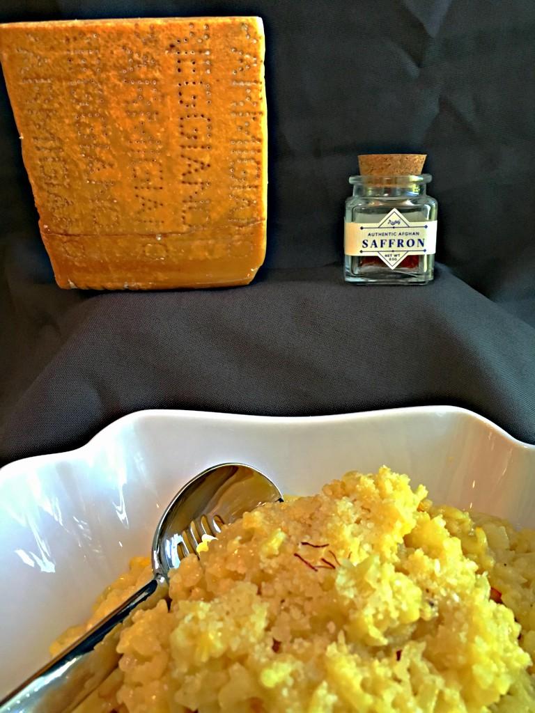 Rumi Spice Saffron Risotto parmigianno reggiano