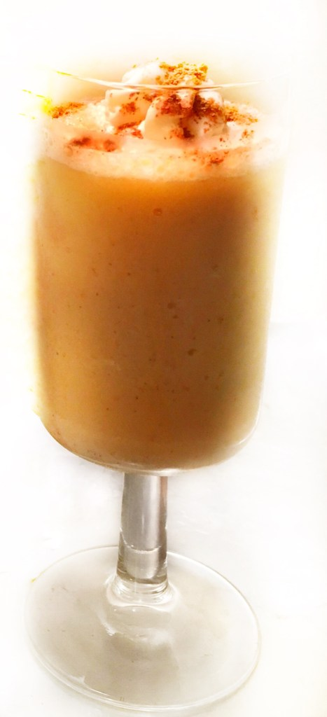 The Healthier Pumpkin Spice Frappe