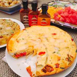 Vegetable Frittata brunch