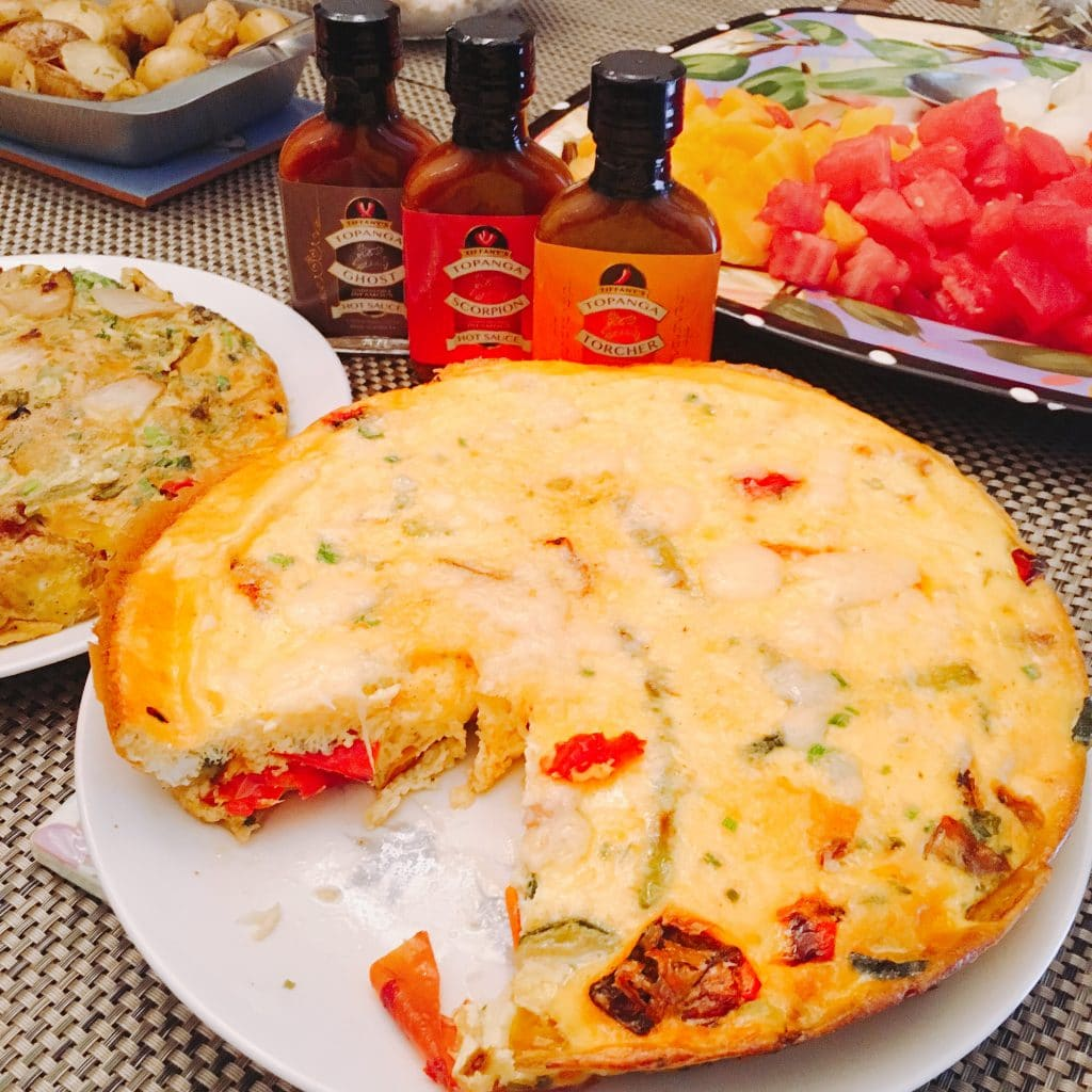 Roasted Vegetable Frittata Makes the Perfect Brunch Centerpiece