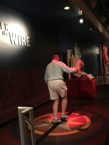 walking the tightrope at Ringling Museum