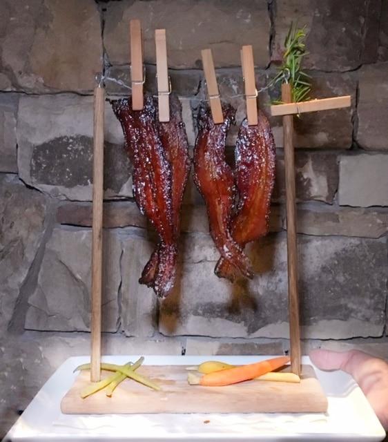 Reynolds Lake Oconee Linger Longer Steakhouse bacon