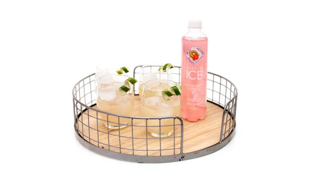 sparkling ice strawberry kiwi cocktail