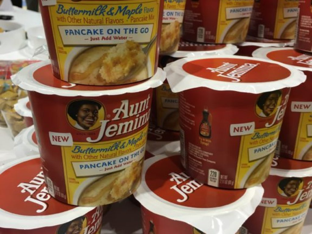 Aunt Jemima single serve pancake mix
