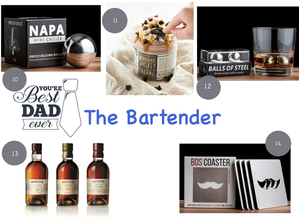 Bartender tools whiskey boozy ice cream