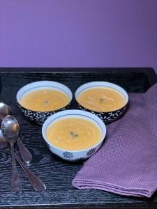 Roasted Buttnerut Squash Soup