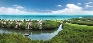canals overview Mayakoba Fairmont
