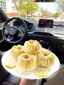 mazda cx 9 glazed lemon cake
