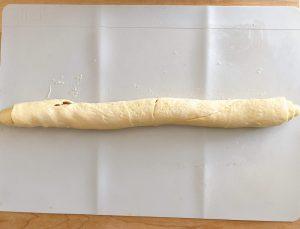 crescent roll cinnamon roll tube of dough