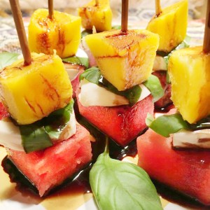 mango watermelon mozzarella