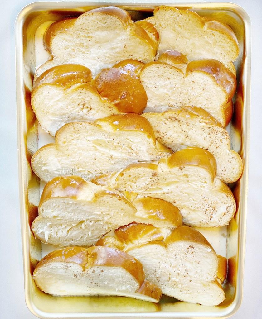 shingled bread