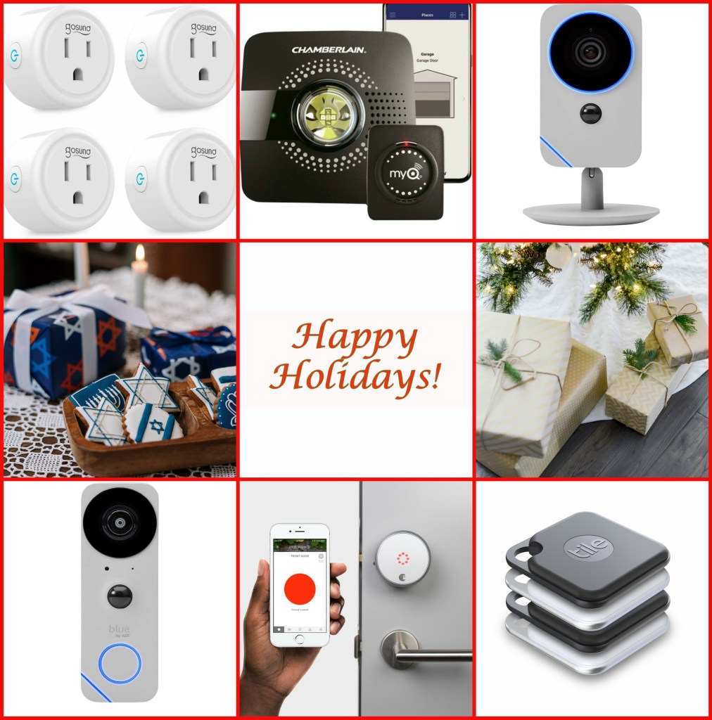 smart home collage
