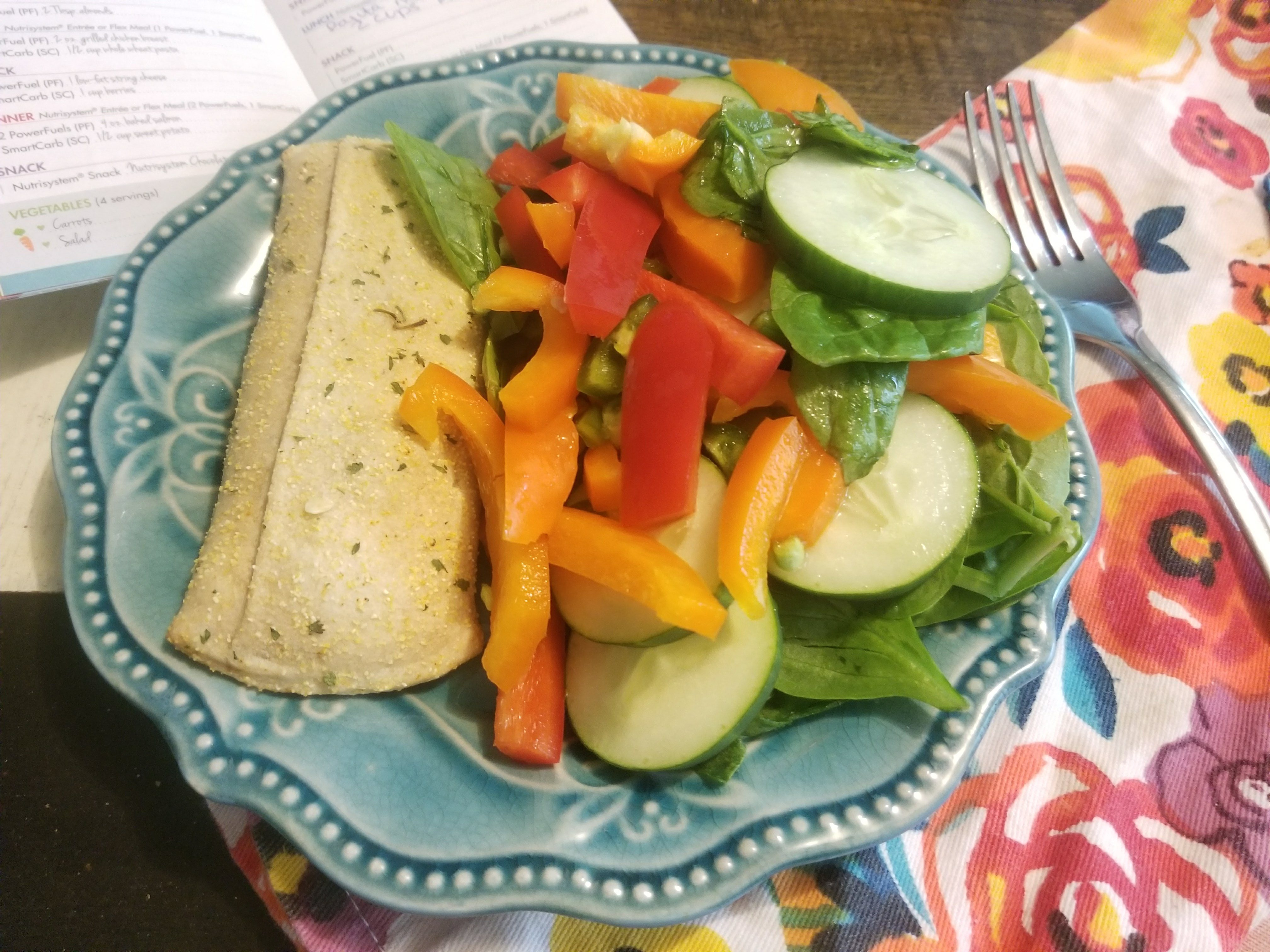 Nutrisystem Review: Week 2 Updates and What I Ate