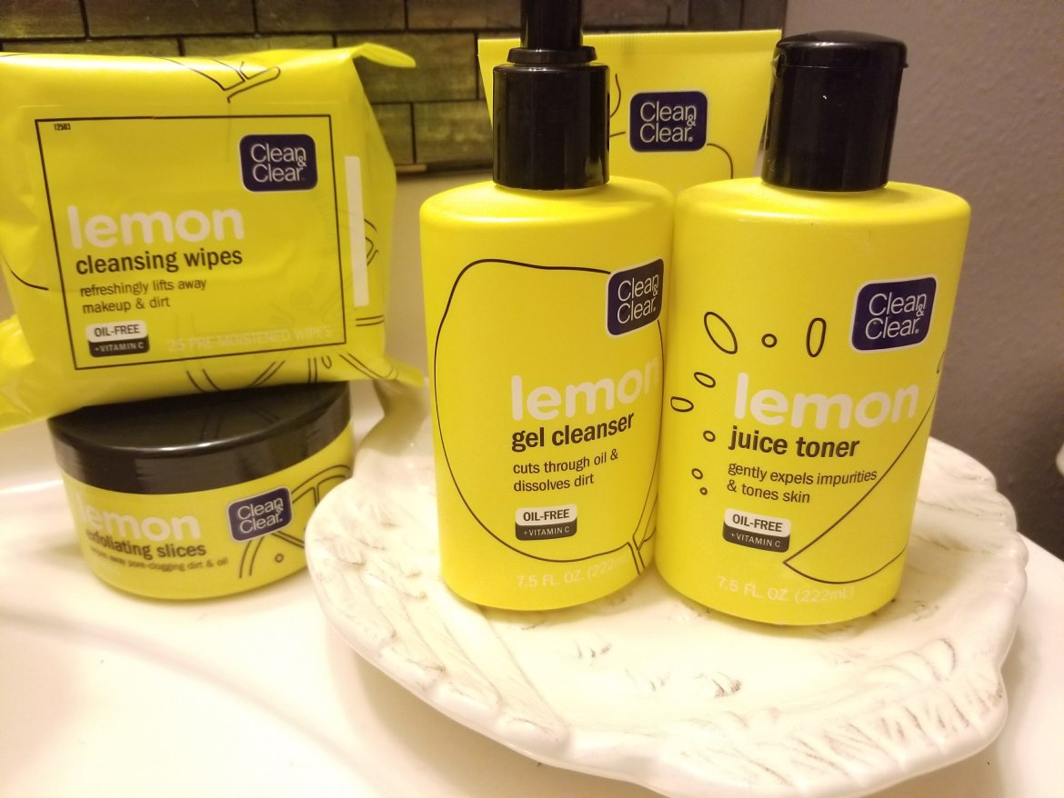 Clean and Clear Lemon Products