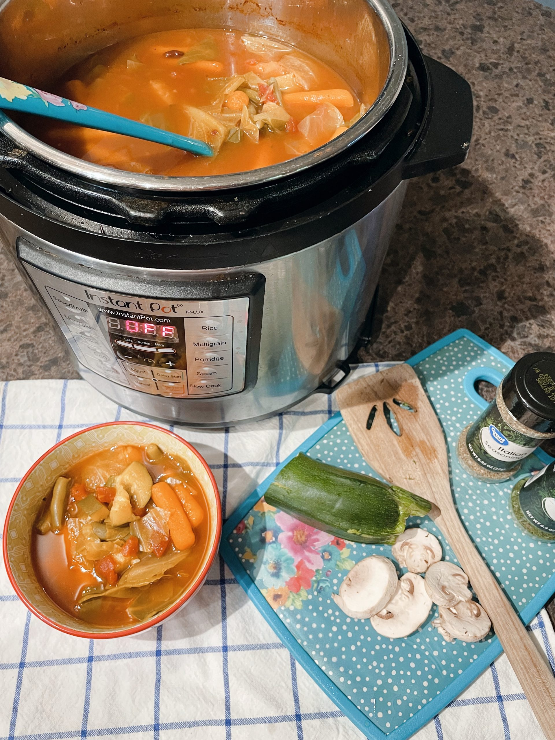 Magic Soup for weight loss in the Instant Pot