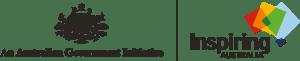 Logo for Inspiring Australia - An Australian Government Initiative