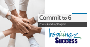 Private Coaching ~ Commit to 6