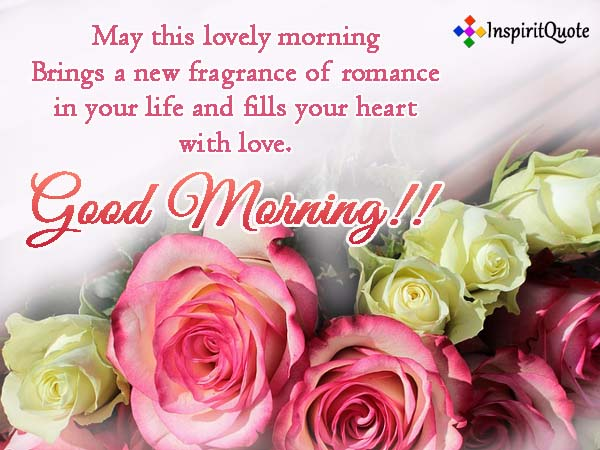 Romantic Good morning Messages and Quotes
