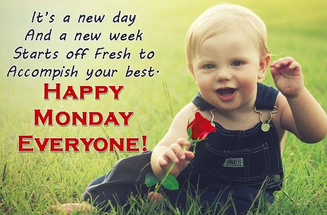 good morning happy monday