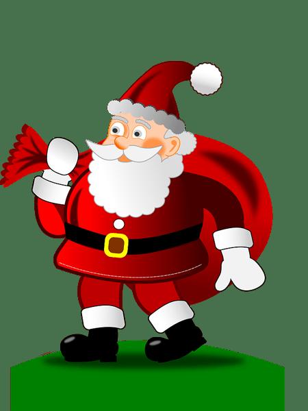 free santa images PNG