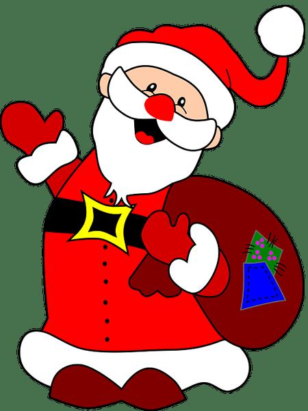 santa claus images hd PNG