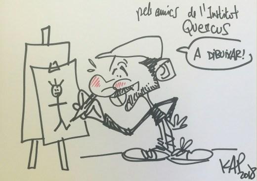 dibuixant de còmic KAP