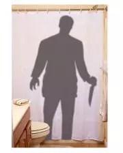 bloody shower curtain psycho shower