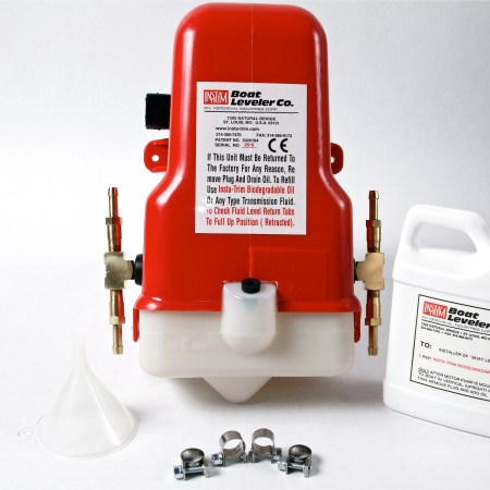 32 VOLT MOTOR PUMP WITH BRASS TEES FOR 4 CYLINDERS & HOSES-0