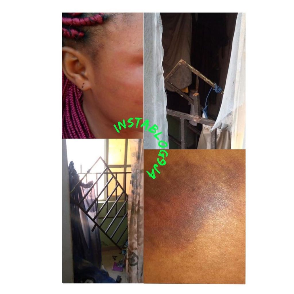 SARS on illegal operations, assault naked corper in her room
