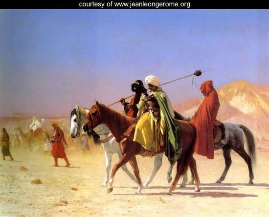 arabs crossing the desert large sSlij 19672