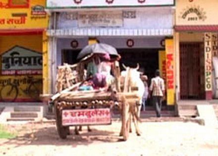 bullock cart as ambulance 26