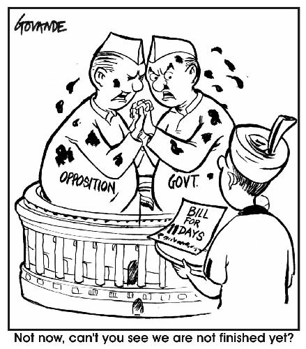 cartoon parliament logjam1 oUGAB 34547