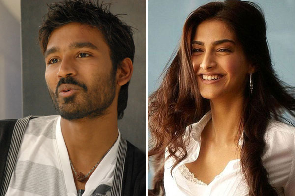 Dhanush and Sonam