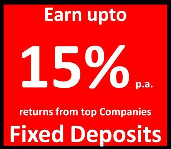 Benefit of company fixed deposit