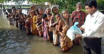 flood ravaged in bihar