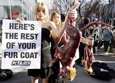 fur protest 18