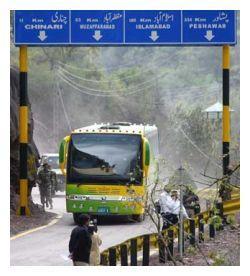 indo pak bus service