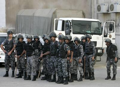 jordanian police 1KMNp 19369