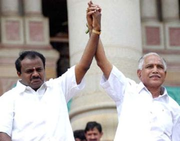 kumaraswamy to resign