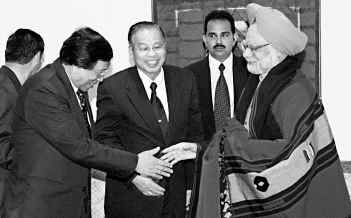 nscn i m leaders with manmohan singh