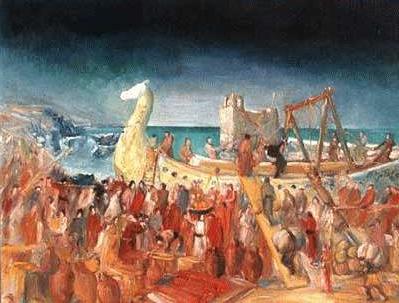phoenician ship antelias b1JwL 19672