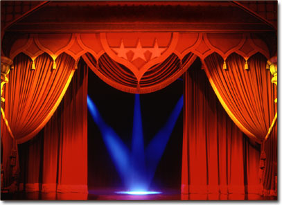 stage curtains Wp42o 19278