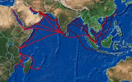 terrorists using sea routes