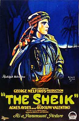 the sheik poster 1921 BTJki 19672