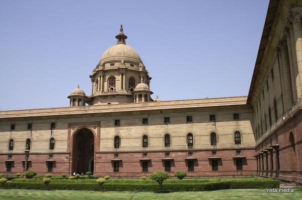 Indian government secretariat building, Delhi