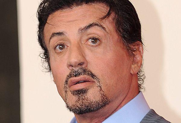 Sylvester Stallone verletzte sich beim Dreh am Genick