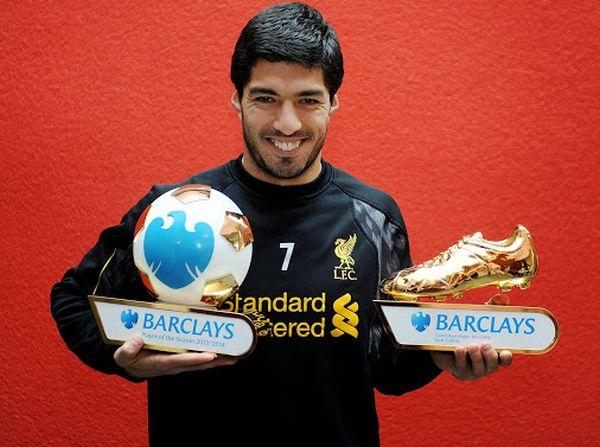 Luis Suarez is Joint-European Golden boot winner